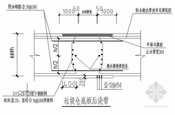 [山东]框架结构垃圾处理厂综合主厂房施工组织设计