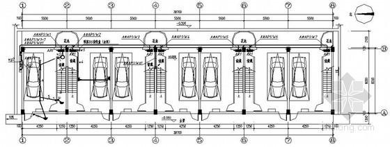 某两层汽车旅馆电气施工图