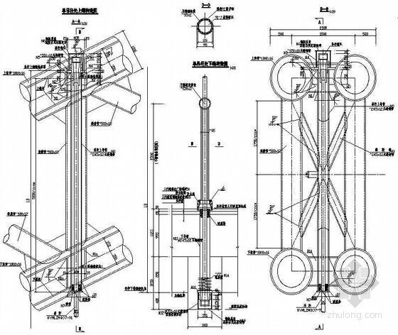 380m中承式钢管混凝土系杆拱桥主拱吊杆处构造节点详图设计