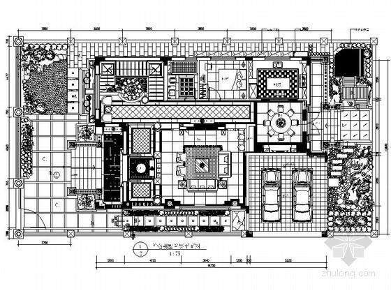古典四层别墅室内装修图(含实景)
