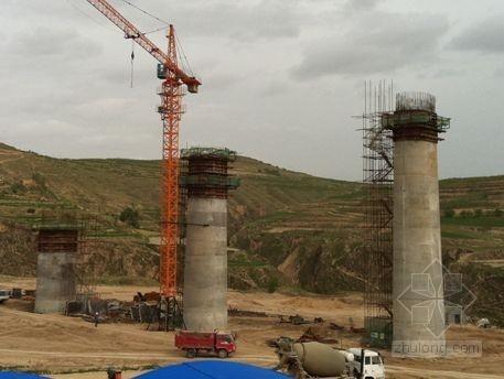 桥梁变截面薄壁空心高墩施工技术