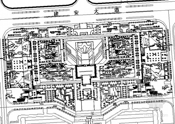 [河南许昌]城市公园园林植物配置设计施工图