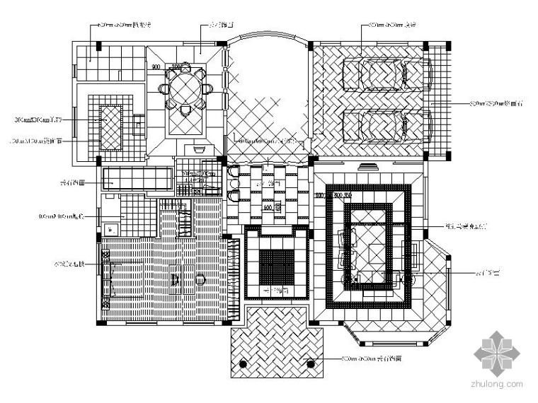 [广东]某三层别墅装修施工图_1