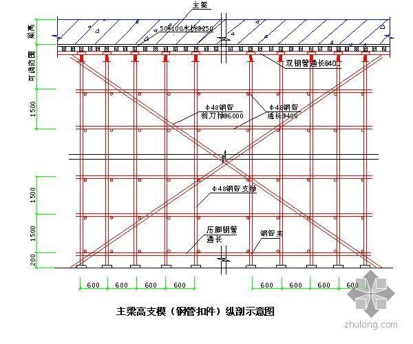 广州某运动员公寓高支模施工方案