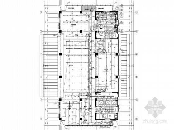 [江苏]监测中心给排水消防施工图(高压细水雾系统 冷凝水系统)