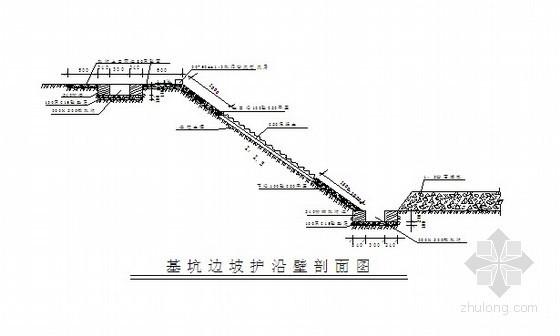 [安徽]住宅楼深基坑放坡开挖施工方案