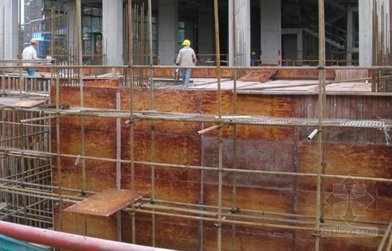 核医学用设备房超大截面混凝土结构施工工法