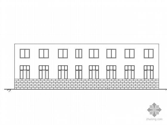 某工业废水处理项目二层综合楼建筑施工图