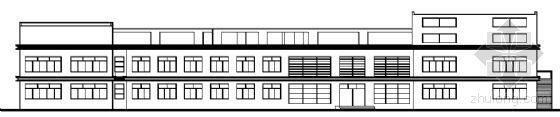 南方某高校大学生活动中心建筑方案图