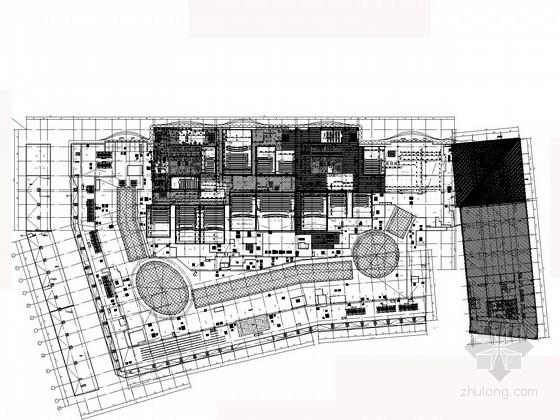 喷水广场给排水资料下载-[广西]18万平国内知名商业生活广场给排水全套图纸(大空间灭火 气体灭火)