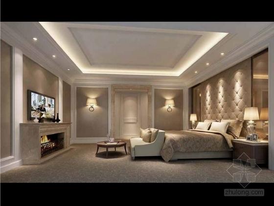 [成都]北美风格三层别墅样板间室内装修图(含方案文本) 实景