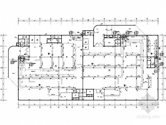 [陕西]防空地下室送排风系统设计施工图