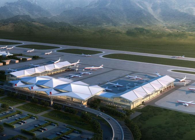 UPS在机场的应用资料下载-[湖南]机场航站楼施工组织设计(133页,高清多图)