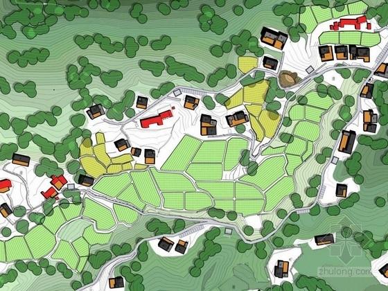 [安徽]南方生态宜居小镇景观规划设计方案