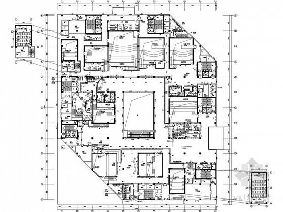[黑龙江]知名大型影院影城给排水施工图纸