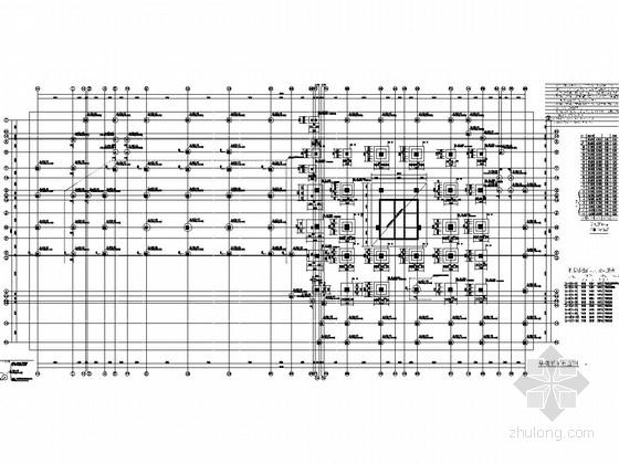 [贵州]19层框支剪力墙结构旧城改造住宅结构施工图
