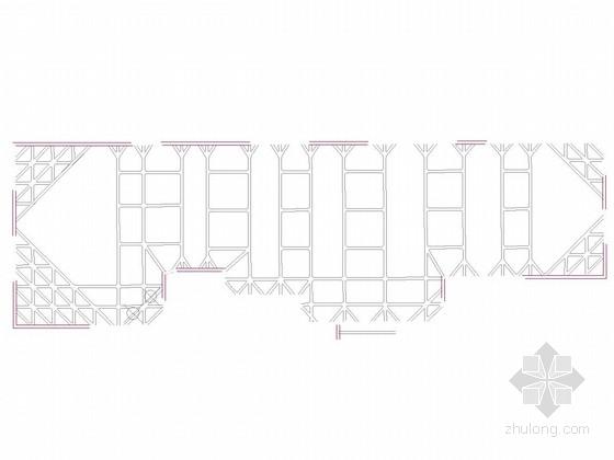 [广东]13米深基坑排桩加两道混凝土支撑支护施工图(含咬合桩支护)