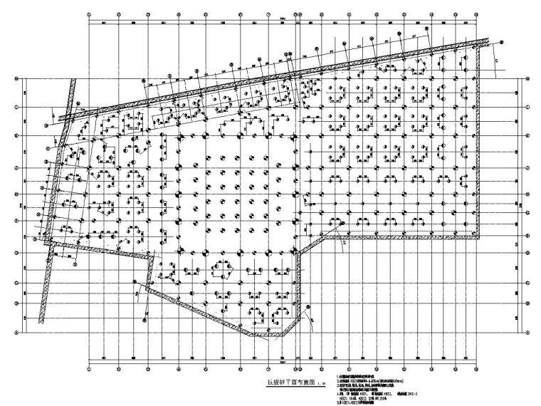 41层框架核心筒结构交通大厦全套结构施工图(CAD和PDF双版本)