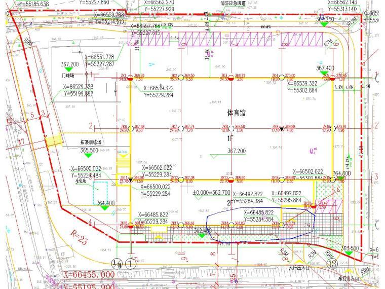 [重庆]学校新建体育馆工程地质勘察报告