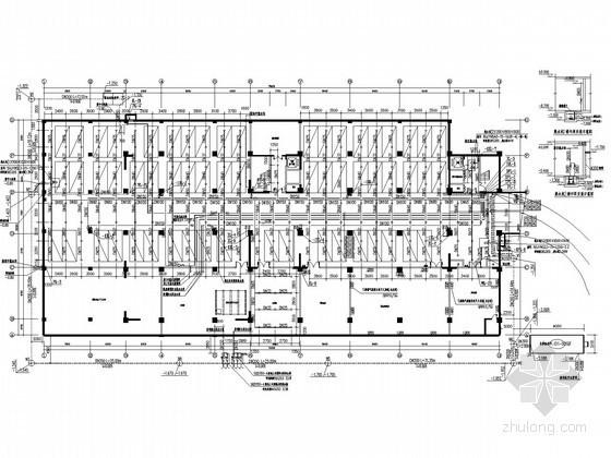 [重庆]十三层酒店建筑给排水施工图(太阳能热水)