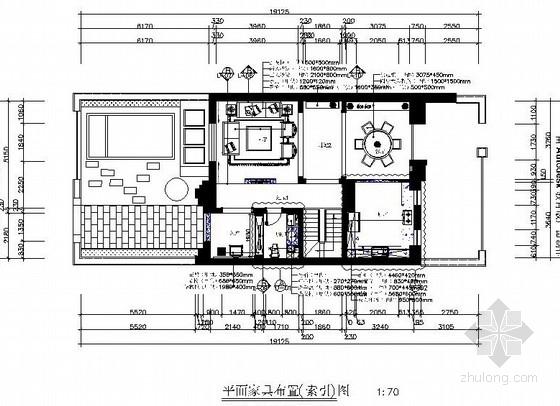 [原创]上市设计公司设计新中式联排别墅室内施工图(含意向图)