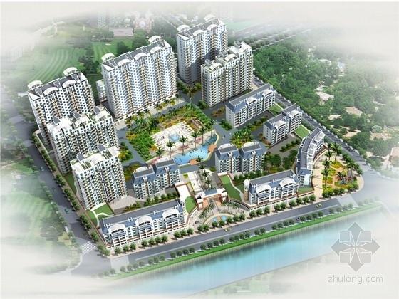 [厦门]中国院落式现代居住区景观设计方案