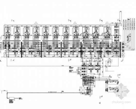 [上海]动力站换热站机电输配供应项目施工图(厂房建设部分)