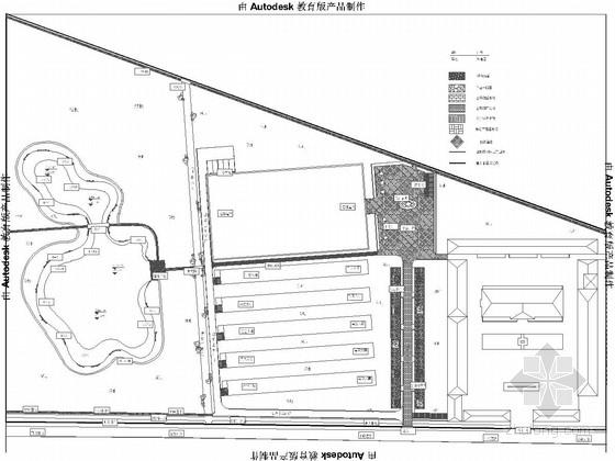 [北京]新农业技术培训园区景观设计施工图