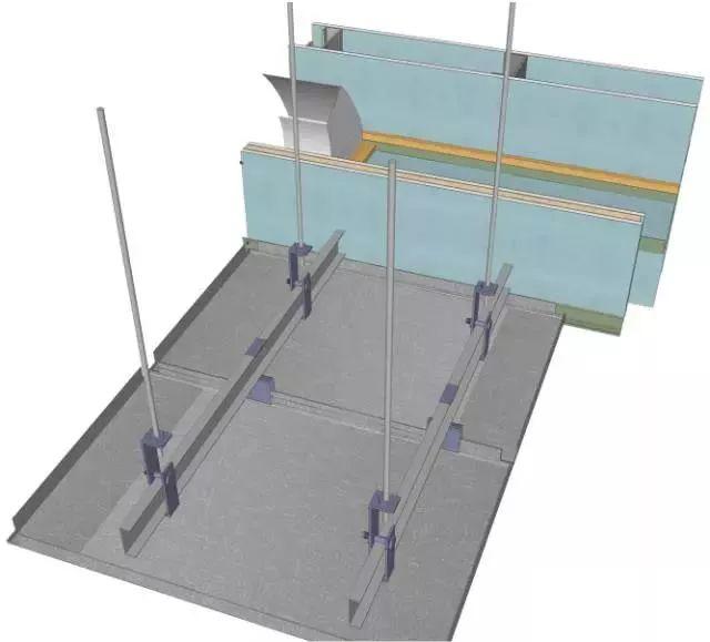 地面、吊顶、墙面工程三维节点做法施工工艺详解_13