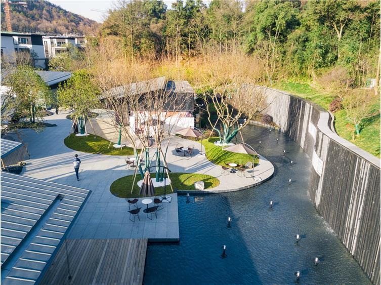 万科白石湖东住宅新中式景观
