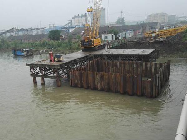 铁路特大桥水中墩围堰专项施工方案