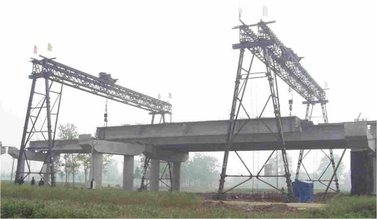 [上部结构]装配式预应力混凝土简支梁桥施工