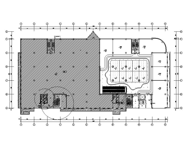 北京二类多层建筑装修电气施工图
