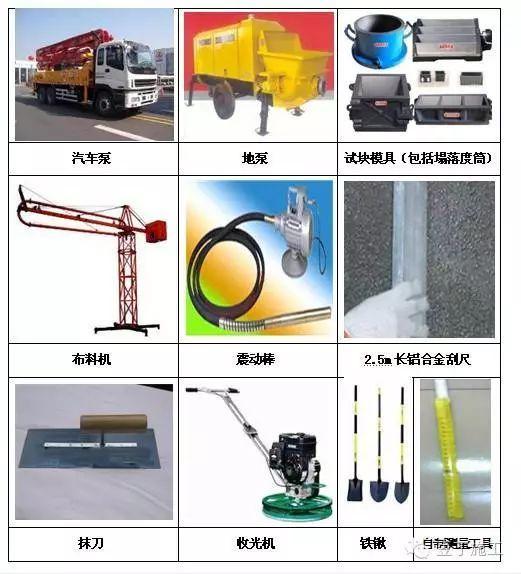 混凝土施工的详细步骤的注意事项