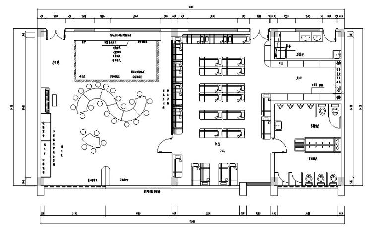 [上海]某特色艺术幼儿园室内装修CAD图纸(含效果)