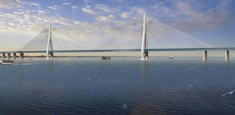[江苏]长江大桥主要技术参数的确定汇报材料(69页)_5