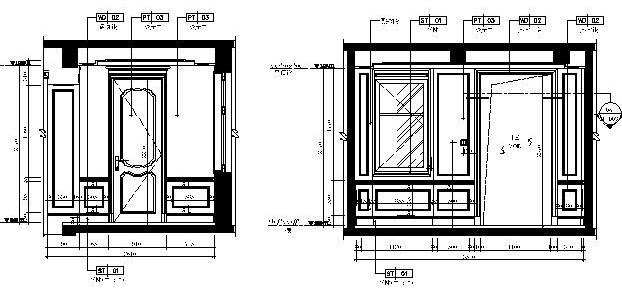 一层立面图1F-EL-07~14-布局1
