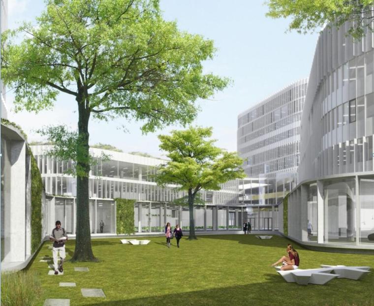 [安徽]万科某特色学校建筑方案设计文本(包含PPT+66页)