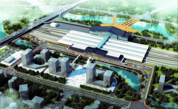 BIM技术应用案例-温州市动车南站西广场站前道路及配套工程