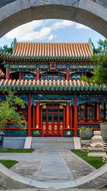 有一种中国美,叫对称美