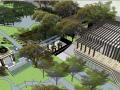 中粮大悦城居住区景观模型设计(新中式风格)