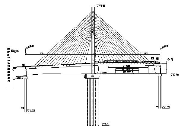 斜拉桥施工组织设计及施工风险管理(91页)