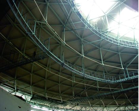 2008奥运会羽毛球馆新型弦支穹顶预应力大跨度钢结构设计研究