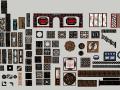 中式风格雕花窗户SketchUp模型合集