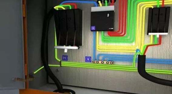 详述总配电箱到分配电箱的接法_8