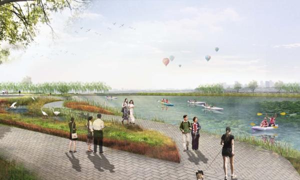 [湖北]生态自然艺术湿地公园景观设计方案(2016年)