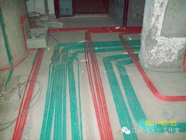 请检查强弱电线管交叉位置的二次屏蔽