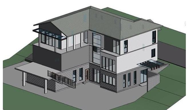 简介BIM建筑模型