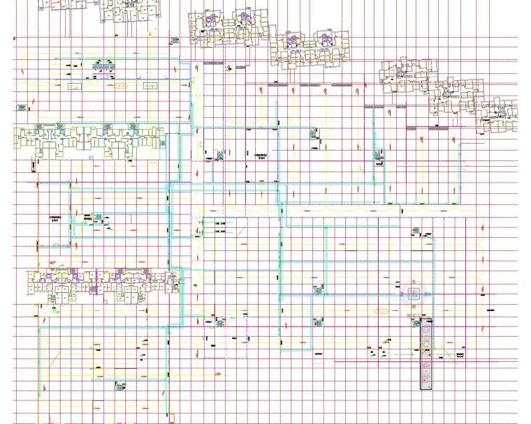 地下车库设计(包括照明系统;动力系统;接地系统;安全监控系统)