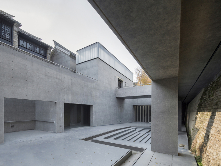 徐州现代语境表现的城墙博物馆外部实景图 (6)